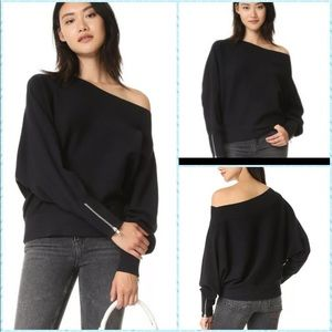 Free People Hide and Seek Pullover Sweater Zippers